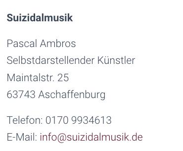 Suizidalmusik